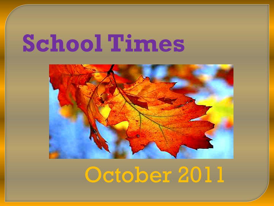 School Times October 2011