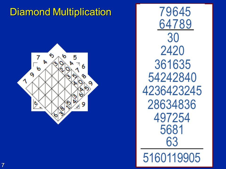 7 Diamond Multiplication