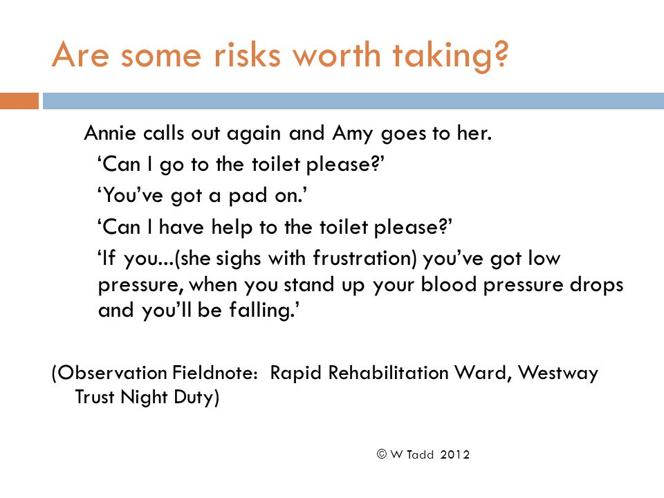 Are some risks worth taking. Annie calls out again and Amy goes to her.