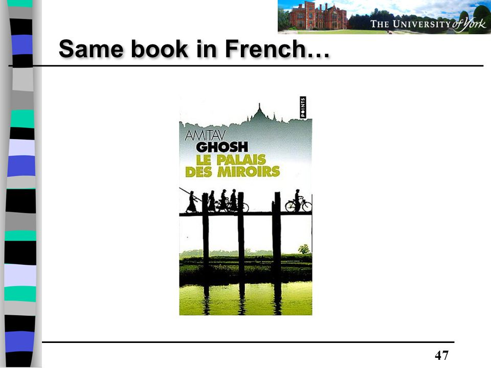 47 Same book in French…