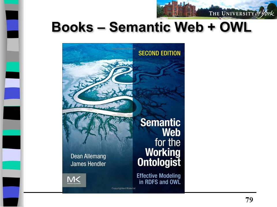 79 Books – Semantic Web + OWL