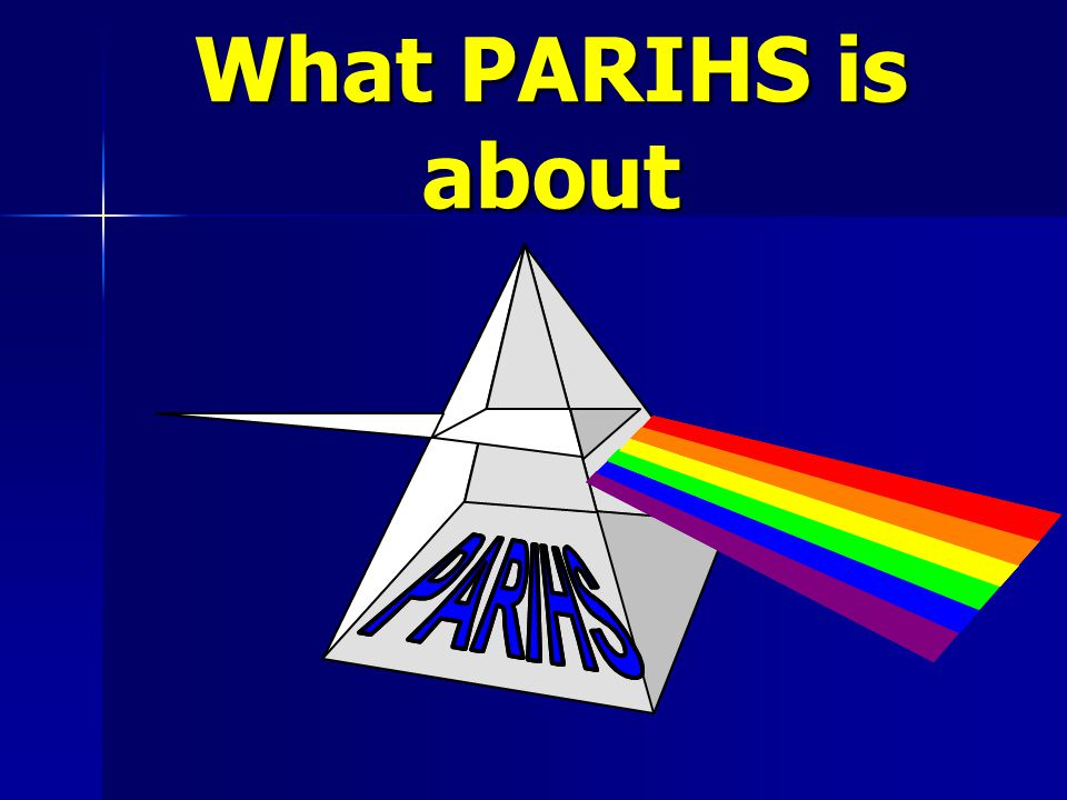 What PARIHS is about