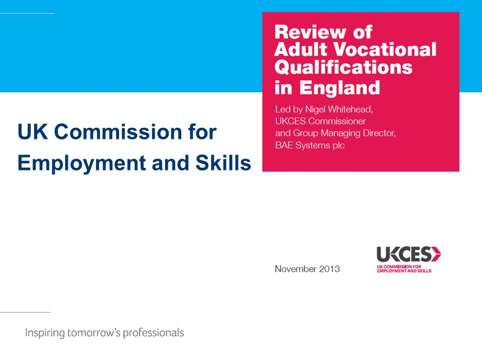UK Commission for Employment and Skills