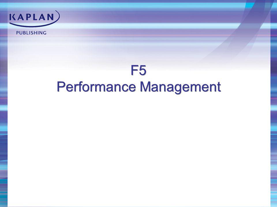 F5 Performance Management