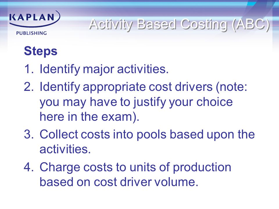 Standard costing A pre-determination of what a product is expected to cost under specific working conditions.