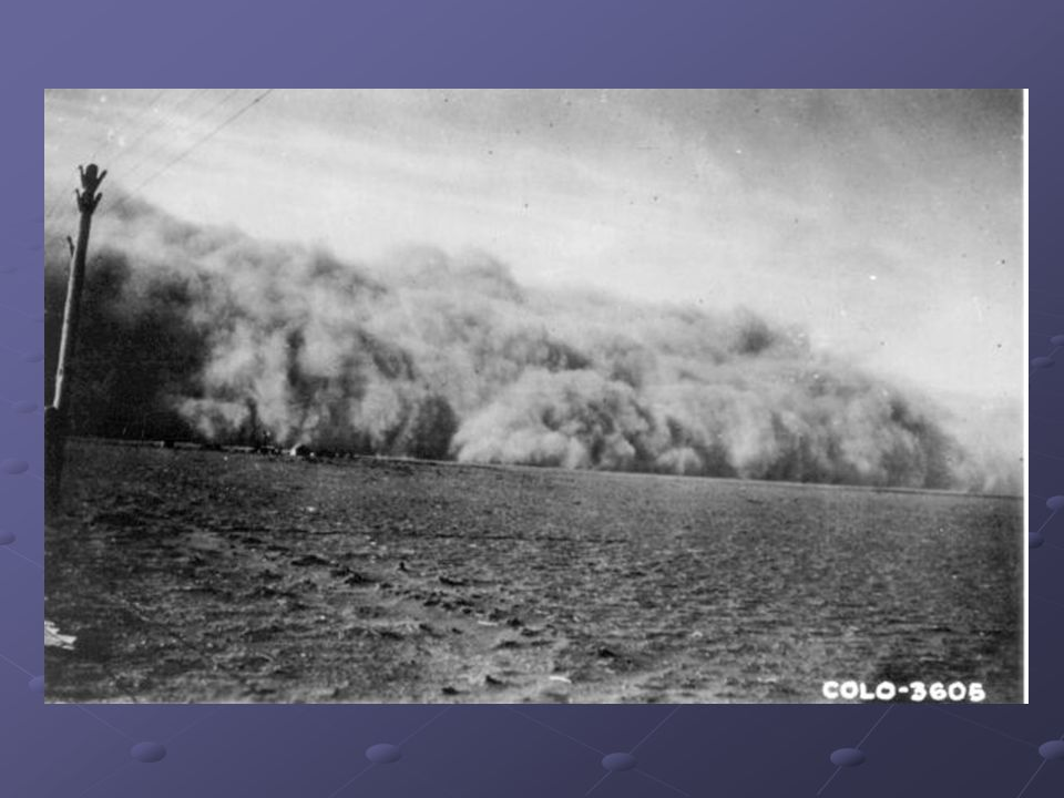 How did the Dust Bowl Occur.In 1931 another cycle of drought occurred.