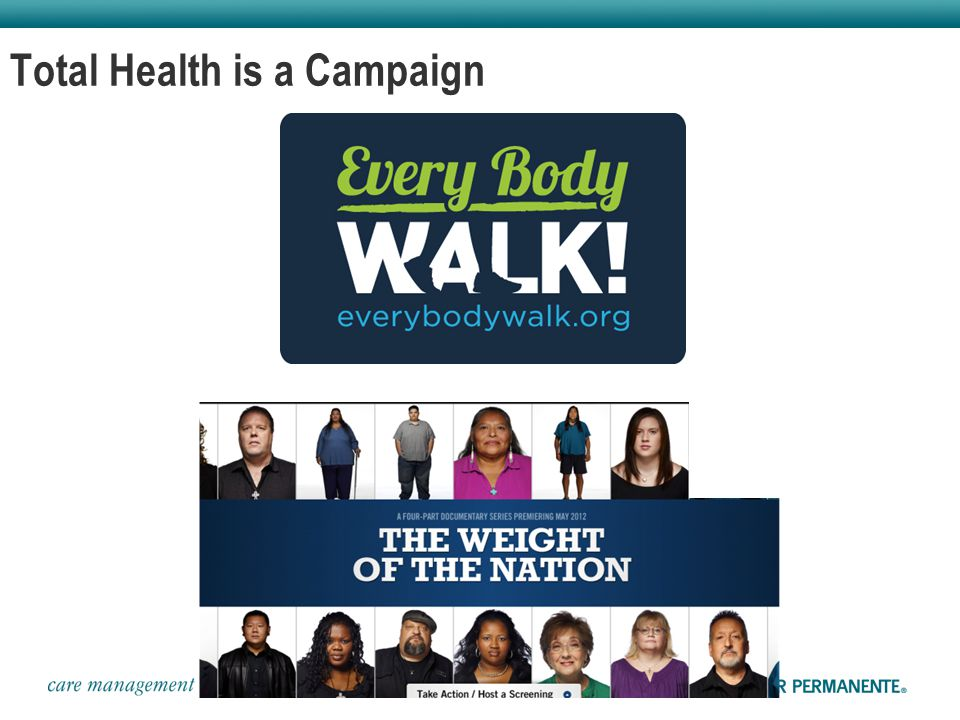 Total Health is a Campaign