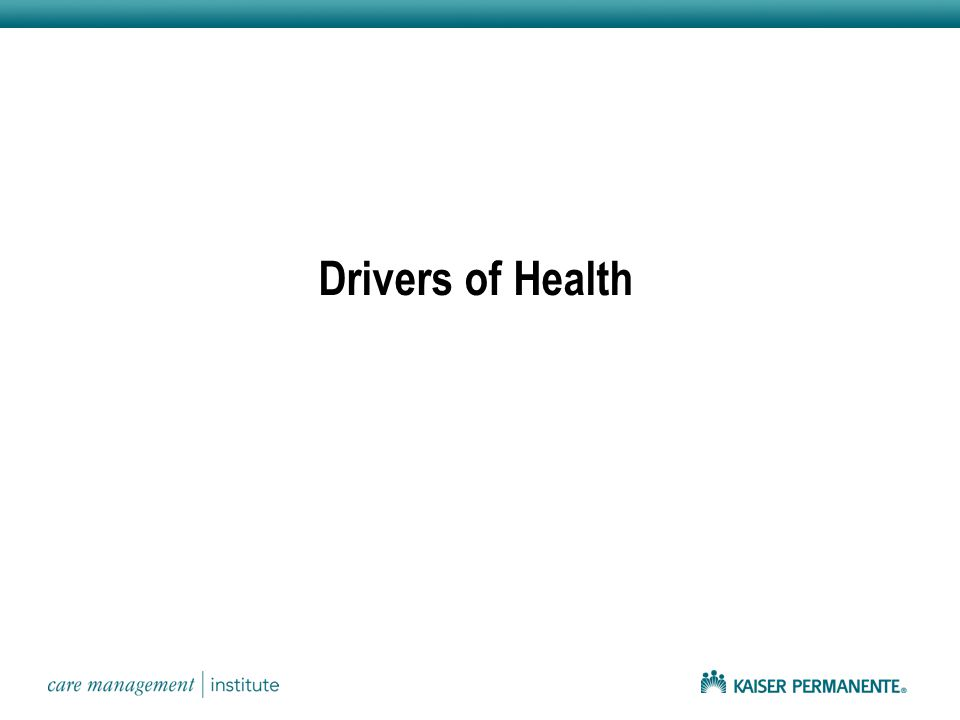 Drivers of Health