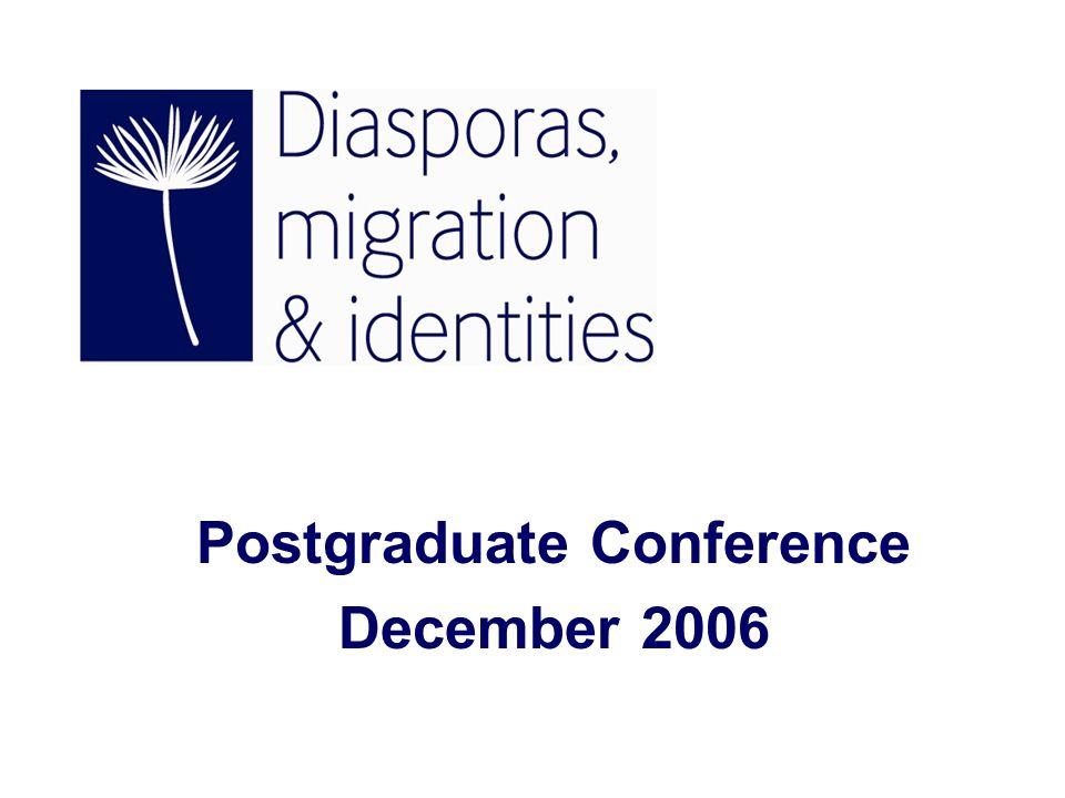 Postgraduate Conference December 2006
