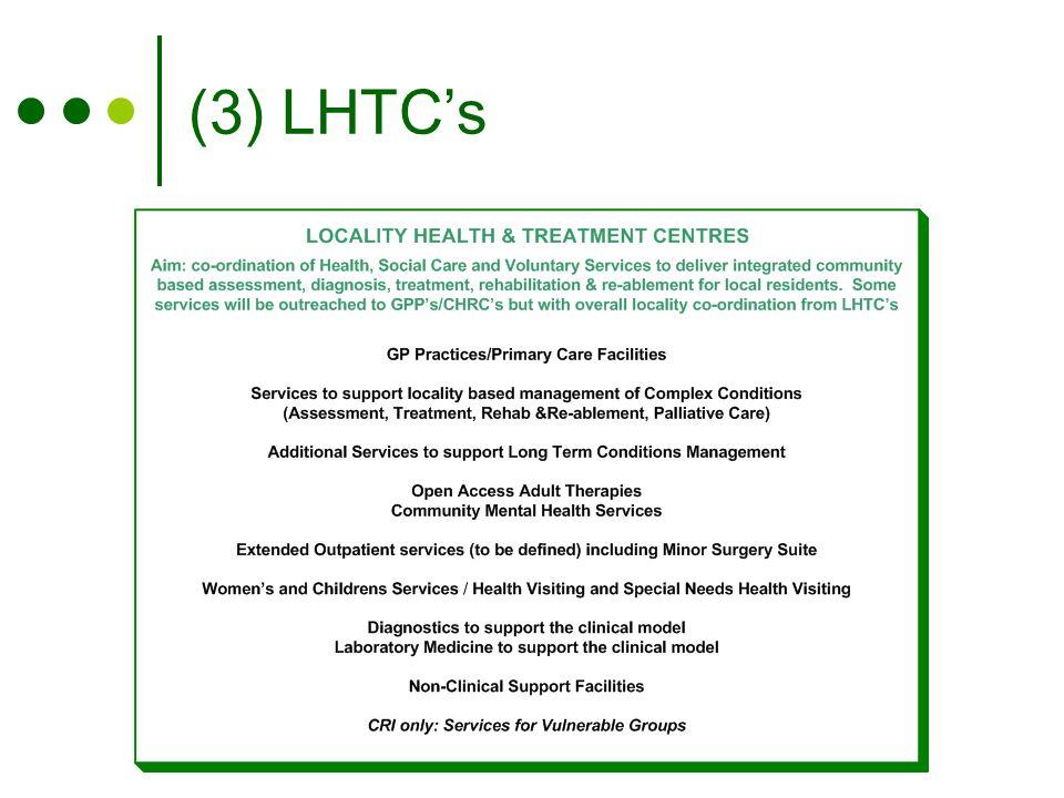 (3) LHTC's