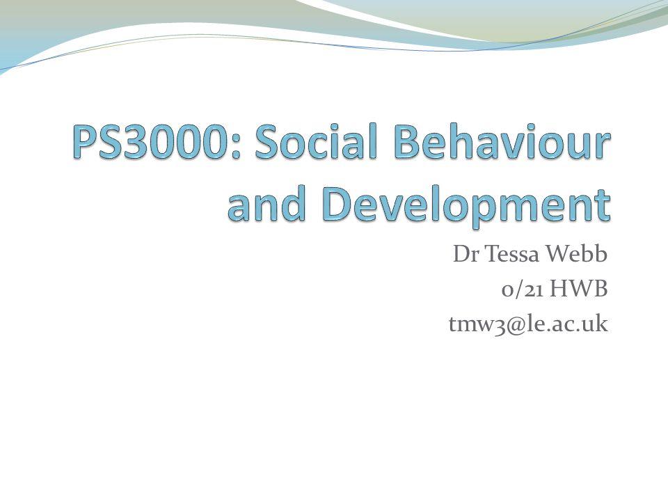 Dr Tessa Webb 0/21 HWB tmw3@le.ac.uk