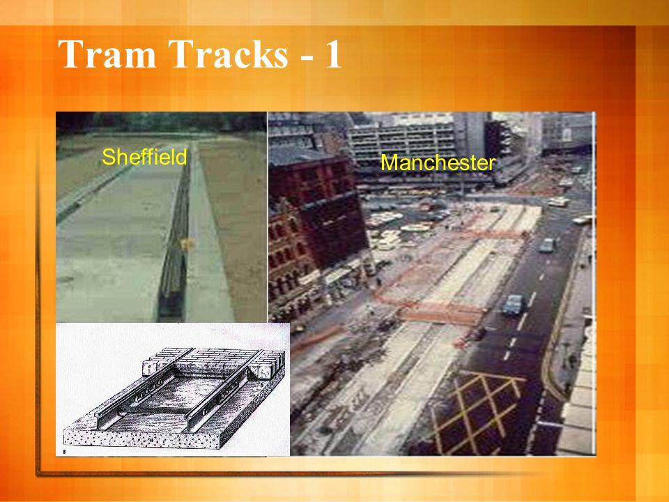 Tram Tracks - 1 Sheffield Manchester