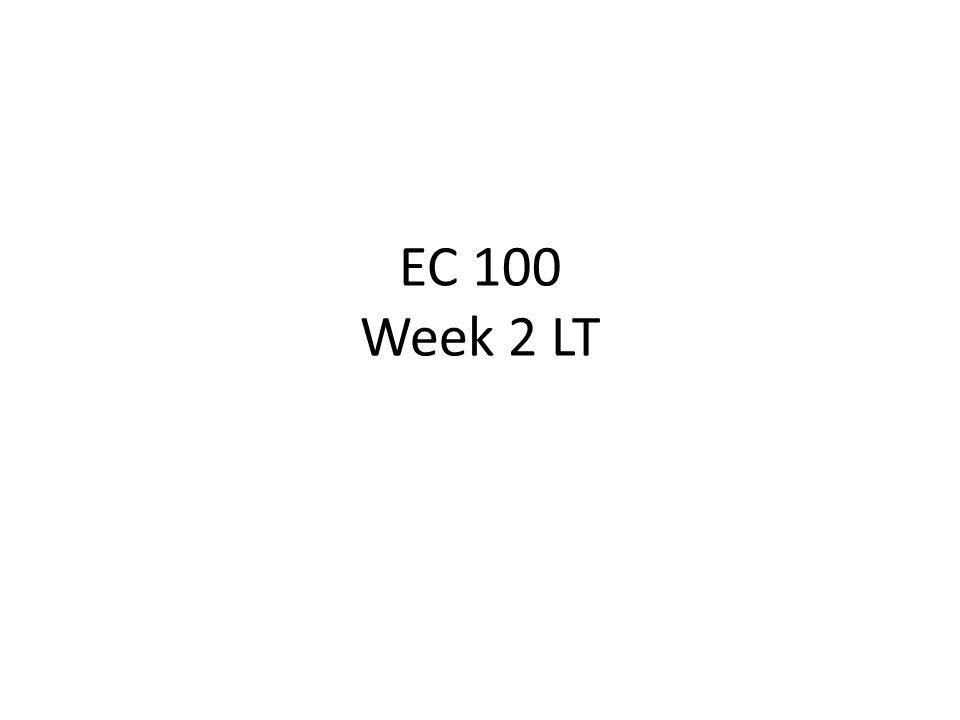 EC 100 Week 2 LT