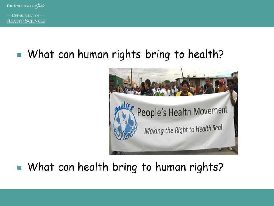 Health Serious challenge to improve health and care when problems at scale – eg infectious diseases, maternal and infant health Important to do the right thing (evidence-based practice and policy) Important to address the needs of all – eg to tackle inequalities, avoid discrimination