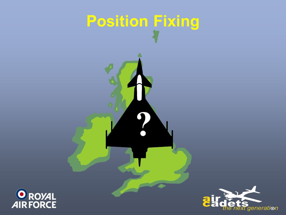 Position Fixing ?