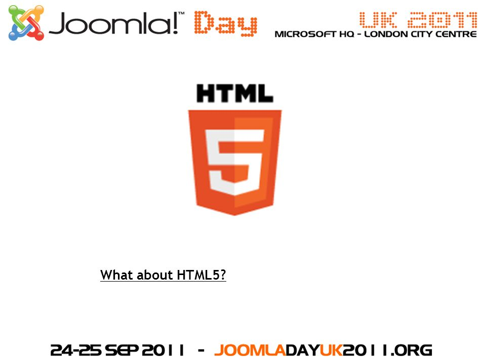 What about HTML5?