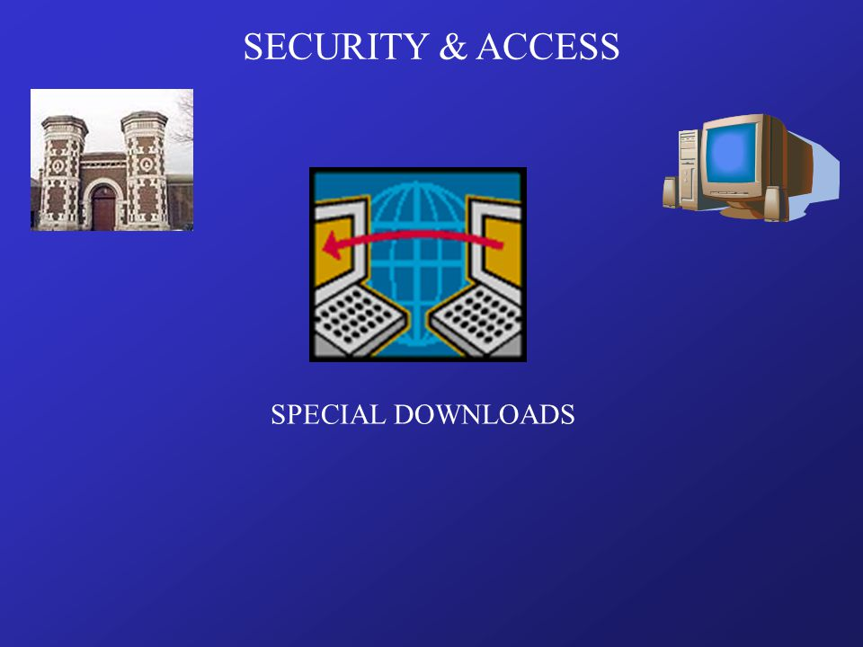 SPECIAL DOWNLOADS SECURITY & ACCESS