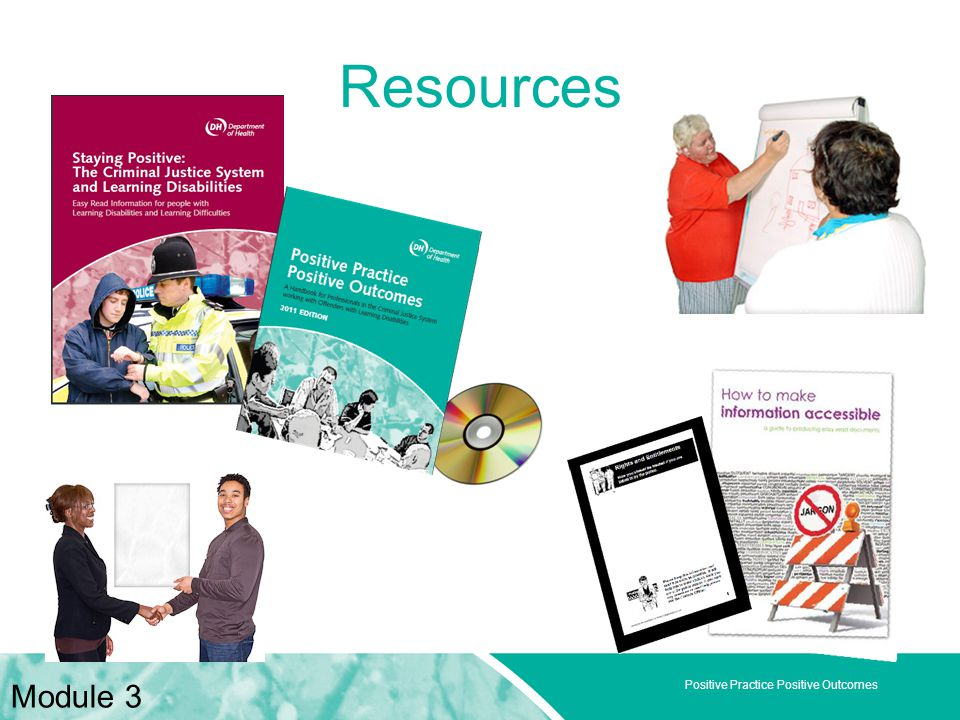 Positive Practice Positive Outcomes Resources Module 3
