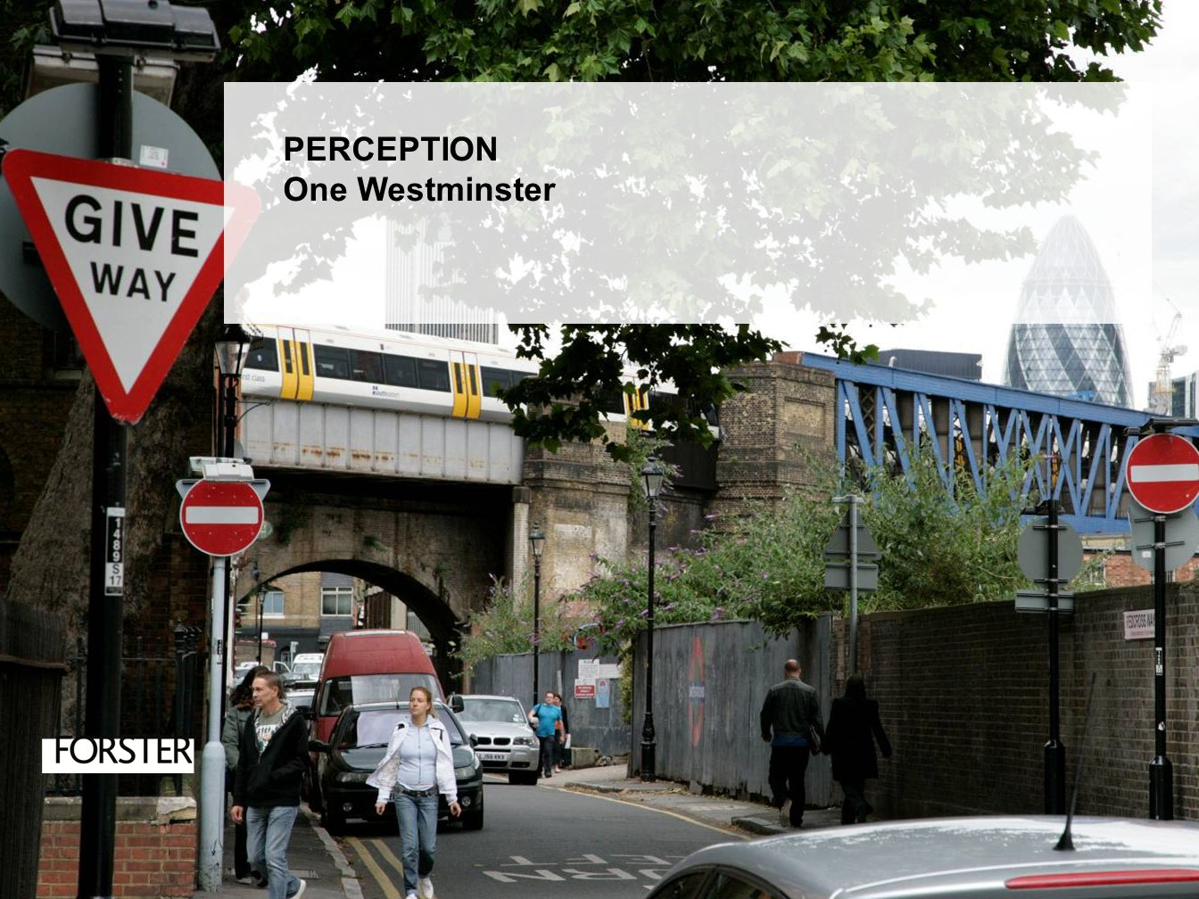PERCEPTION One Westminster