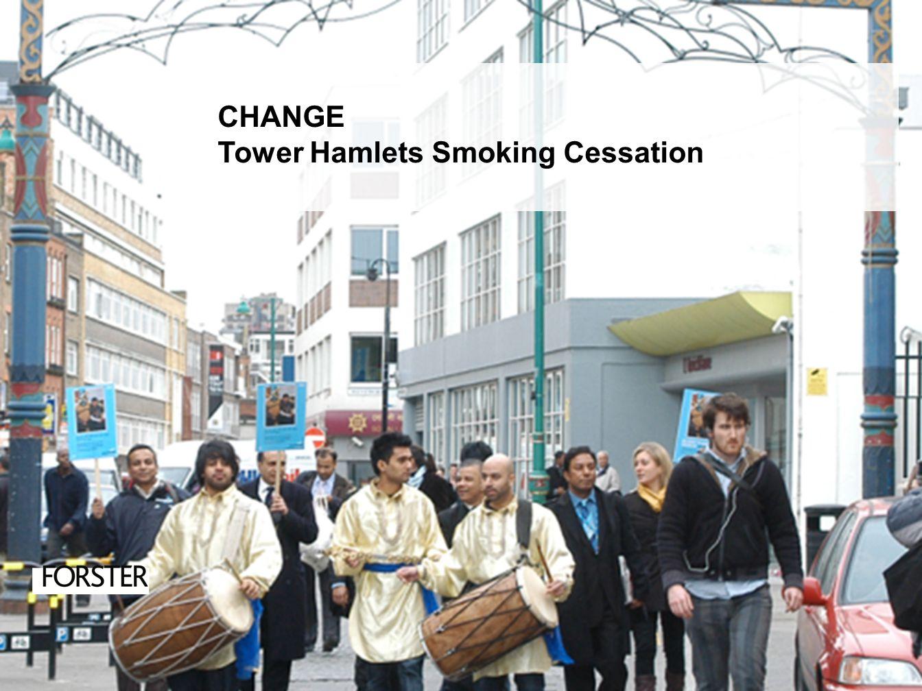CHANGE Tower Hamlets Smoking Cessation