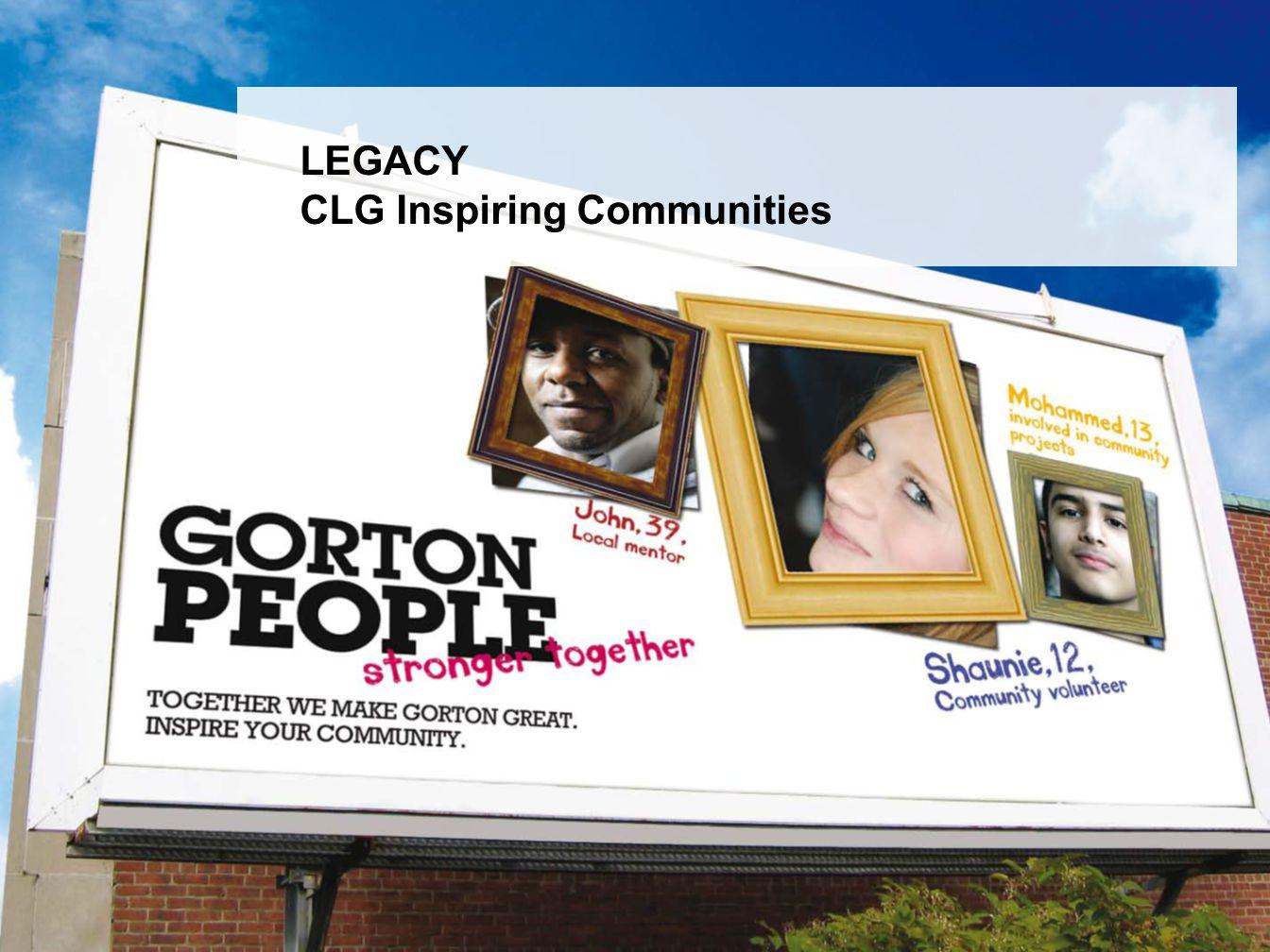 LEGACY CLG Inspiring Communities