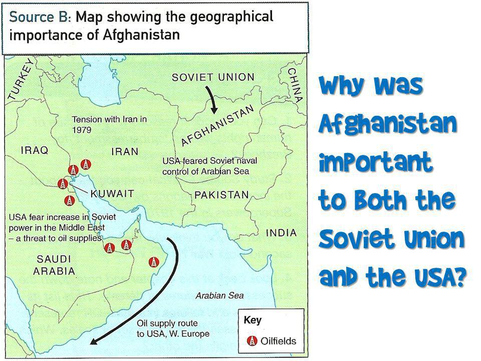 Why was Afghanistan important to both the Soviet Union and the USA?