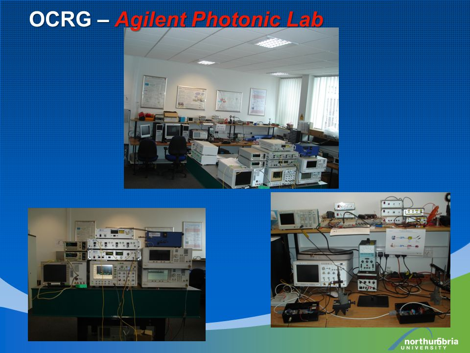 5 OCRG – Agilent Photonic Lab