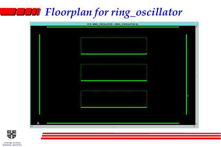 Cambridge University Engineering Department Floorplan for ring_oscillator