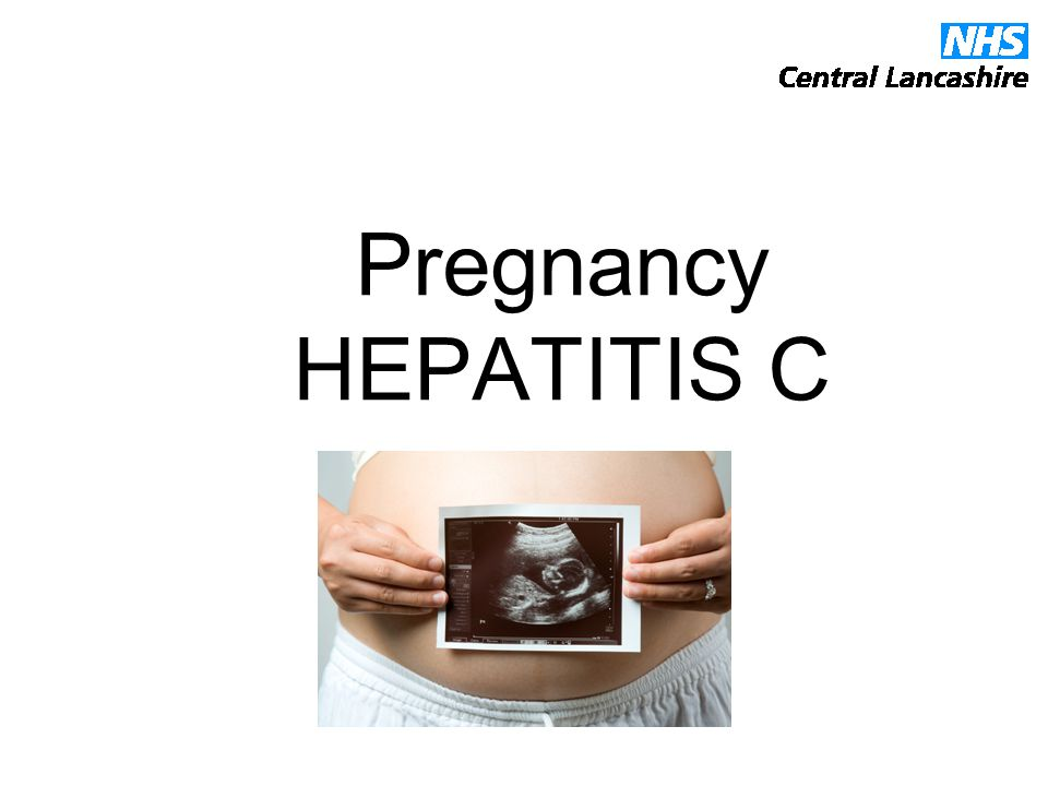 Pregnancy HEPATITIS C