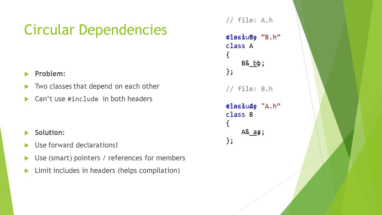Type Inference (decltype)  C++11 introduces 'decltype' which can be used to infer the type of an object based on the declared value of another.