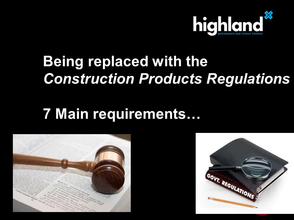 Constructor responsibility Manufacturer's declaration of conformity Warranty that product meets the specification Safety critical products Must have suitable Factory Production Control (FPC) FPC needs to be certified by a Notified Body Linked to Execution Classes Welding is a special process Reliance on the system and the personnel Competent welders and inspectors required Competent welding coordinator 4 How do I implement it?