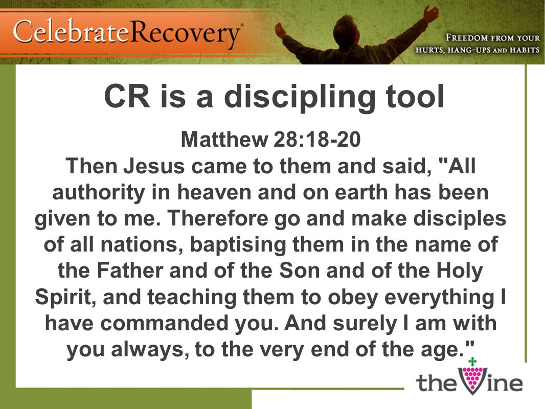Matthew 28:18-20 Then Jesus came to them and said,