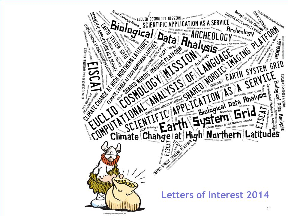 21 Letters of Interest 2014