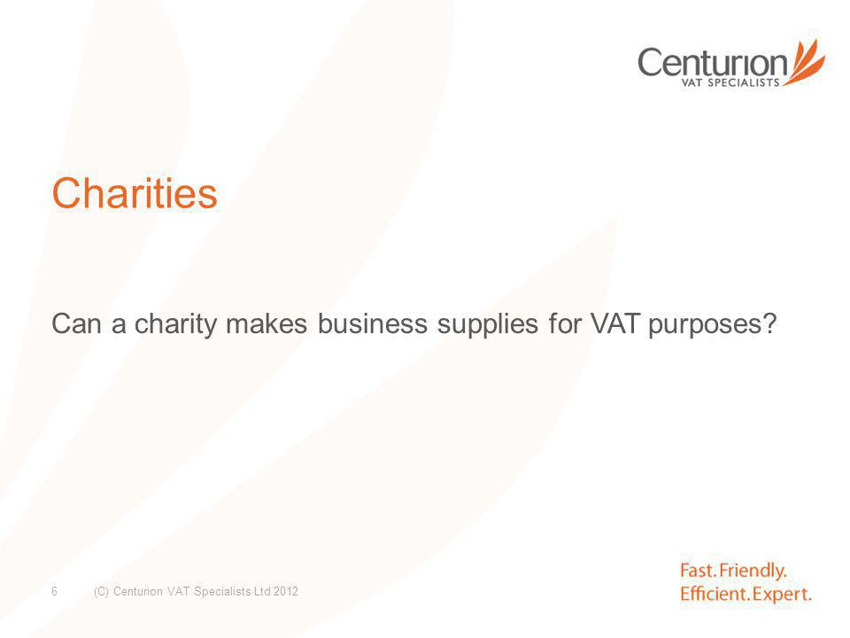 VAT context of a social enterprise company Is it making supplies by way of business.