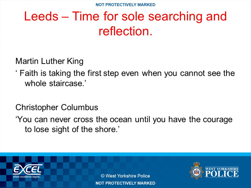 Leeds – Time for sole searching and reflection.