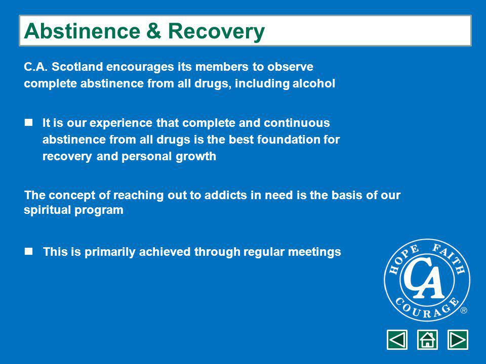Abstinence & Recovery C.A.