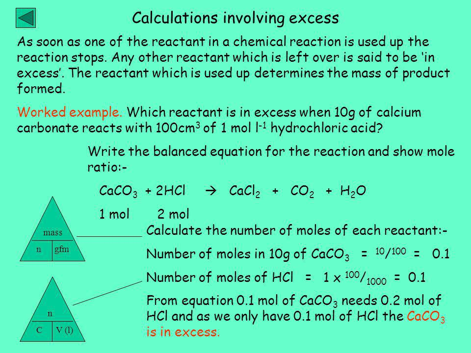 As soon as one of the reactant in a chemical reaction is used up the reaction stops.