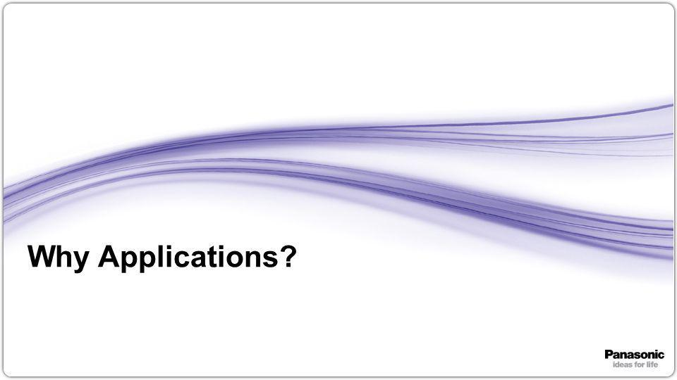 12 Why Applications