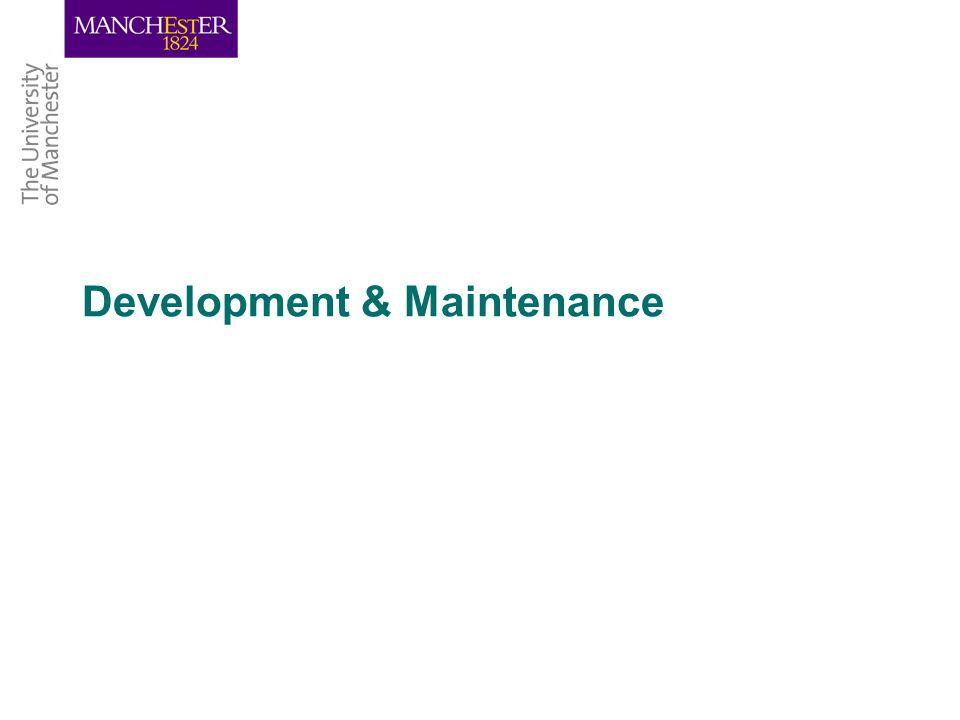Development & Maintenance