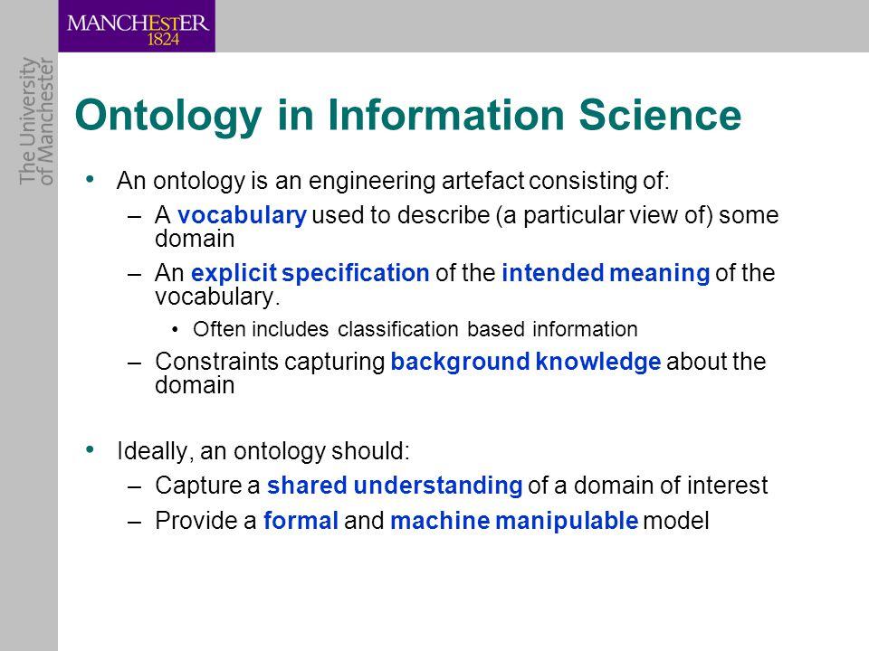 Example Ontology (Protégé)