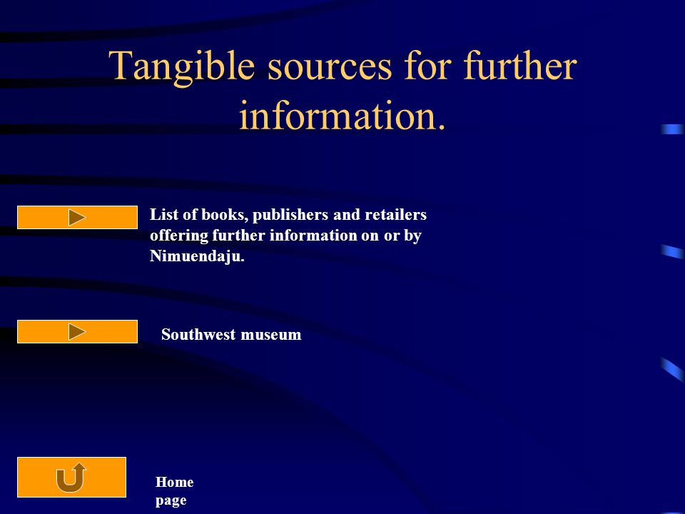 Tangible sources for further information.