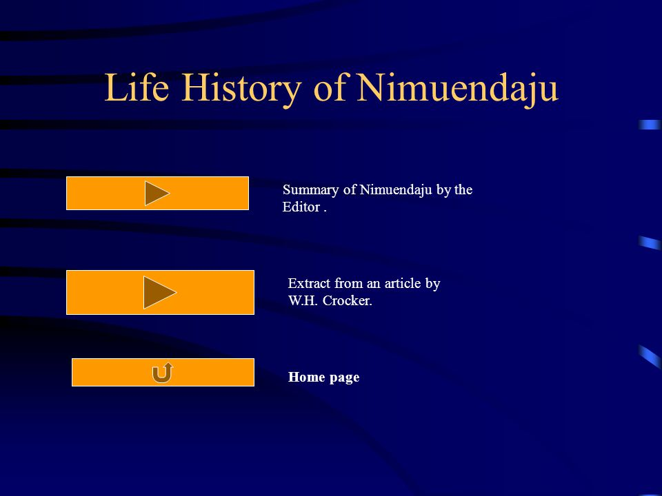 Life History of Nimuendaju Summary of Nimuendaju by the Editor.