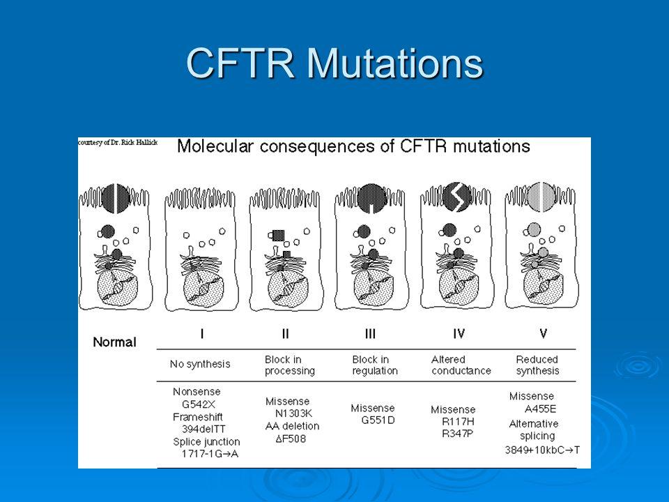 CFTR Mutations