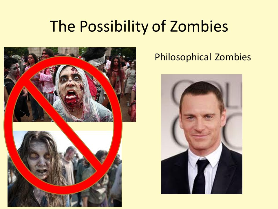 The Possibility of Zombies Philosophical Zombies