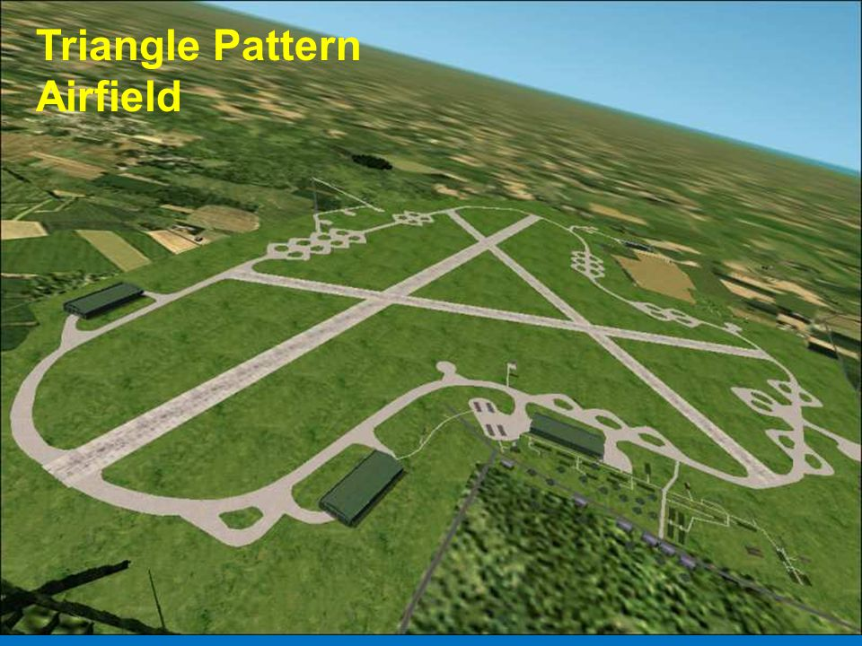 Triangle Pattern Airfield