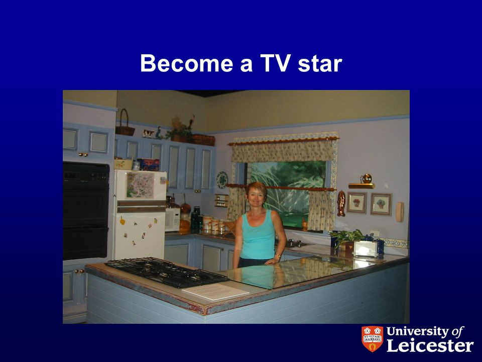Become a TV star