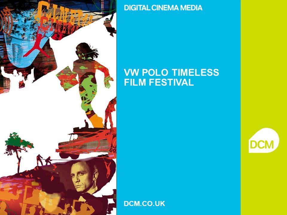 VW POLO TIMELESS FILM FESTIVAL DCM.CO.UK