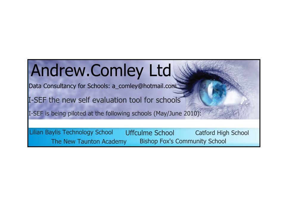 Introducing the most comprehensive ICT based self evaluation framework available.
