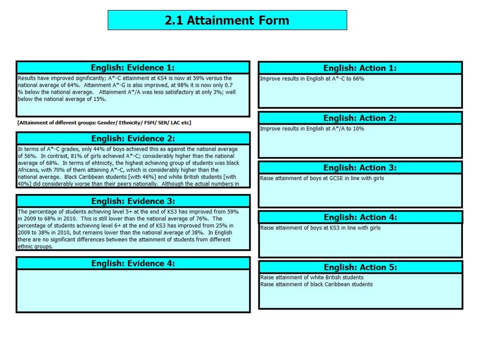 Pop up prompts will allow you to benchmark your judgements against Ofsted criteria