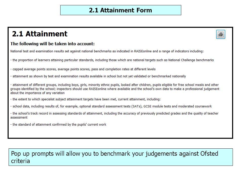 I-SEF Judgements Report